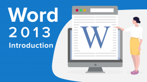 Word 2013 Introduction
