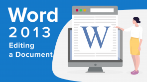 Editing a Document in Word