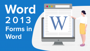 Forms in Word 2013