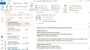 Reading and Responding to Messages in Outlook 2013