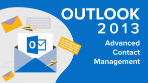 Advanced Contact Management in Outlook 2013