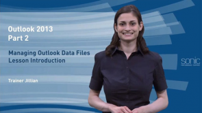 Managing Outlook Data Files