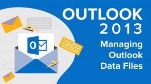 Managing Outlook Data Files