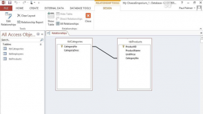 Designing a Relational Database in Access 2013