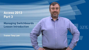 Managing Switchboards in Access 2013