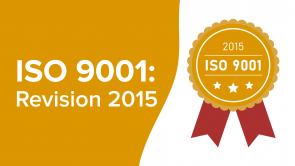 ISO 9001: Revision 2015