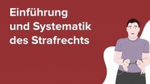 Einführung und Systematik des Strafrechts