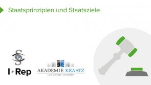 Staatsprinzipien und Staatsziele (coming soon)