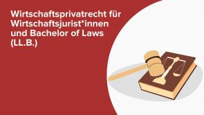 Wirtschaftsprivatrecht für Wirtschaftsjurist*innen und Bachelor of Laws (LL.B.)