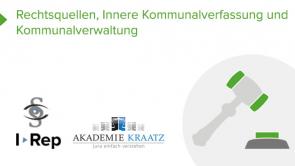 Rechtsquellen, Innere Kommunalverfassung und Kommunalverwaltung (coming soon)