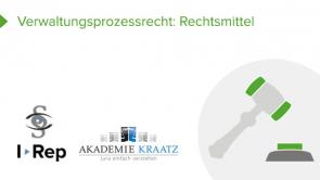 Verwaltungsprozessrecht: Rechtsmittel (coming soon)