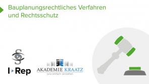 Bauplanungsrechtliches Verfahren und Rechtsschutz  (coming soon)