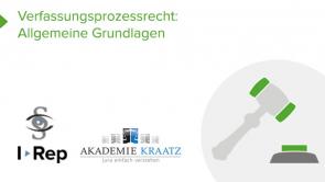 Verfassungsprozessrecht: Allgemeine Grundlagen (coming soon)