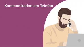 Kommunikation am Telefon