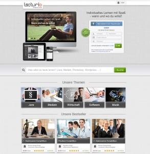 Homepage-Relaunch bei Lecturio - so sieht die neue Seite aus