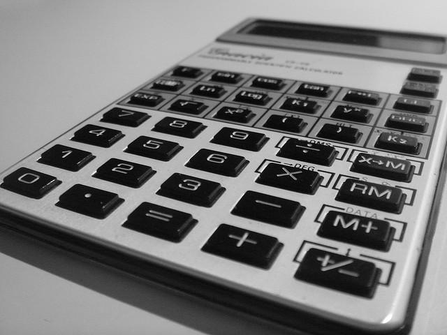 Taschenrechner - Berechnung mit Excel