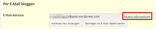 ^WordPress Beiträge per Mail verfassen
