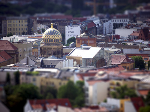 Tilt Shift angewendet