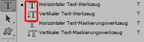 Text Werkzeug