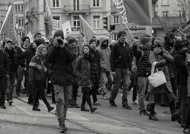 Demonstration Brokdorf