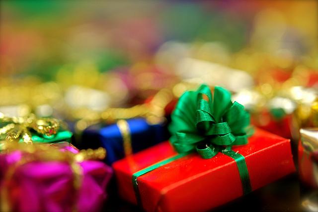 das sind viele geschenke