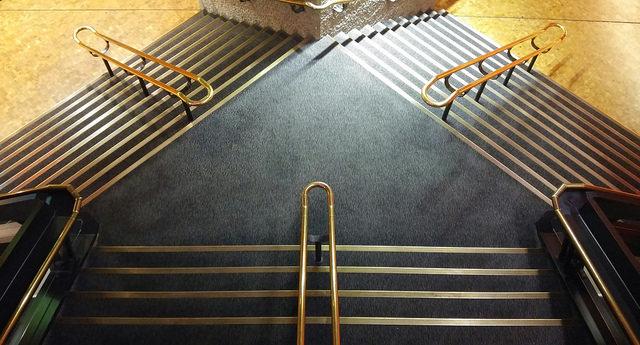 Treppenaufgänge