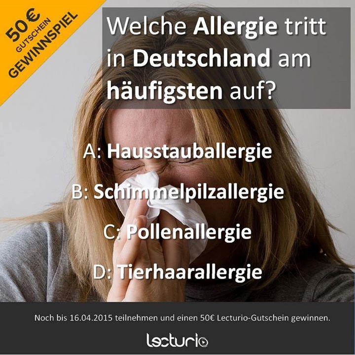 das ist ein quiz zu allergien