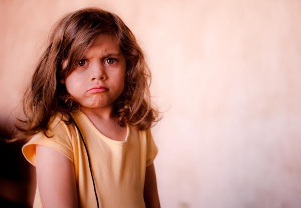 dieses kind ist wütend