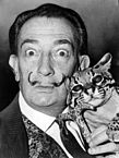 """Salvador Dali NYWTS"" by Roger Higgins, World Telegram staff photographer - Library of Congress. New York World-Telegram & Sun Collection. http://hdl.loc.gov/loc.pnp/cph.3c14985. Licensed under Public Domain via Wikimedia Commons."