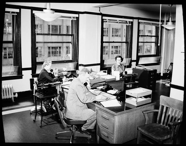 Verwaltungsakt im Büro