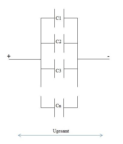 Parallelschaltung Kondensator