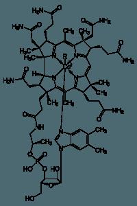 das ist die strukturformel von vitamin b 12