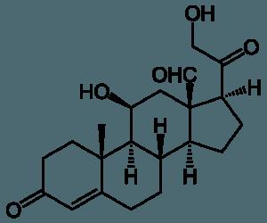 Aldosteron-strukturformel