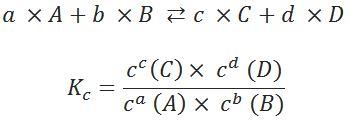 berechnung des massenwirkungsgesetzes - Massenwirkungsgesetz Beispiel