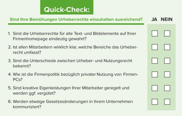 Quickcheck_Urheberrecht