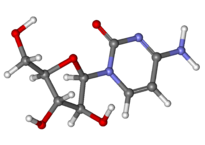 cytarabine_ball-and-stick
