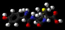 amoxicillin 3d structure