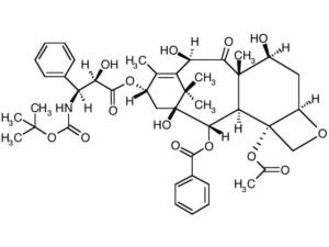 docetaxel structural formula