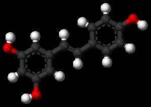 Resveratrol 3D balls