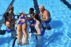 Lifeguard Emergency training