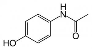 Paracetamol skeletal