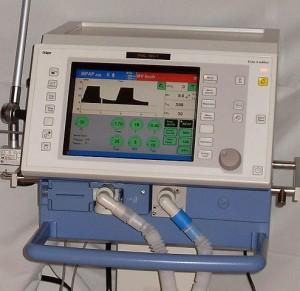 Respirator Evita4 on an ICU