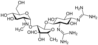 Structure of streptomycin