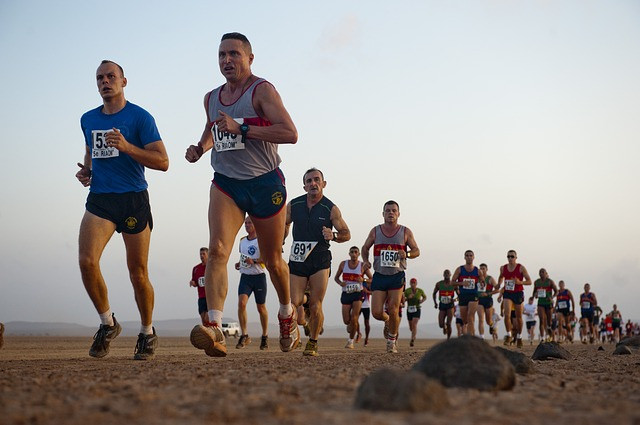 competitive sport, marathon
