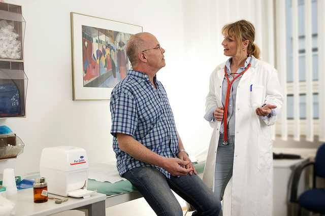 doctor patient consultation