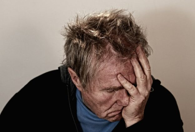 old man depressed