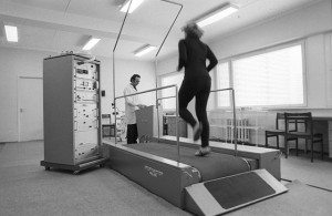 test on a treadmill